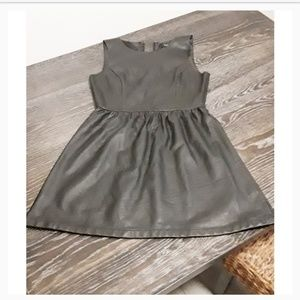 Forever21 | Faux Leather Dress | Size Sm | Black